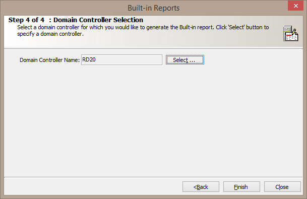 Domain contoller selection