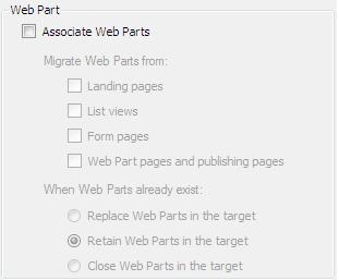 Associate Web Parts