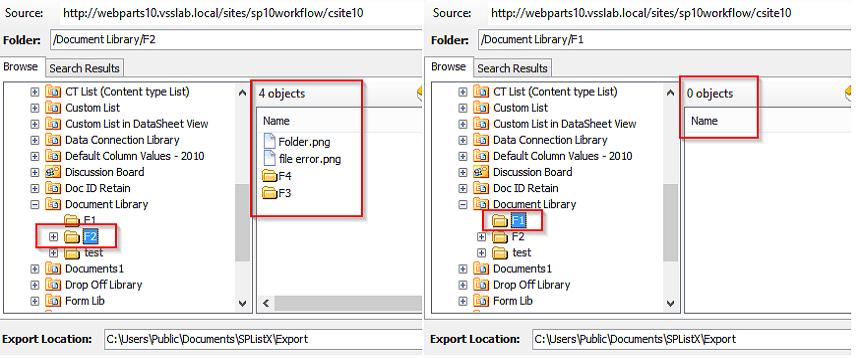 SPListX v7.16.3 with exact count