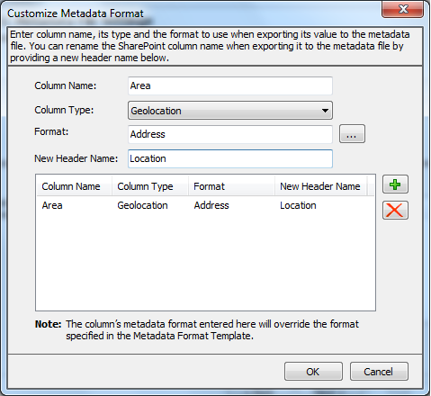 splistx customize metadata format