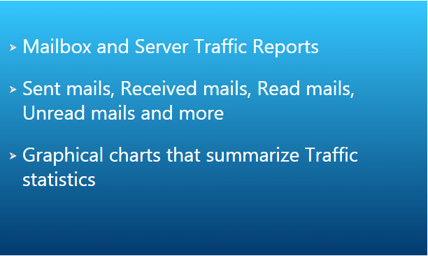 Exchange Mailbox and Server Traffic Reports