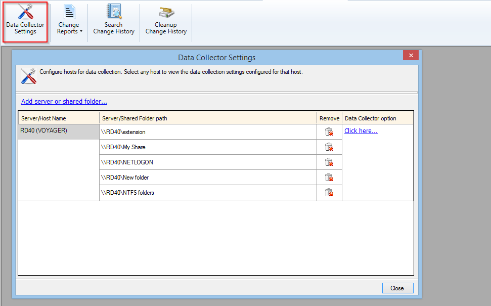 Configure Windows for fast data collection about changes in NTFS